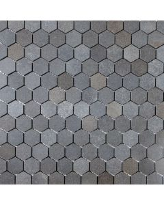 Basalt Hexagon Mosaic