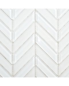 Chevron Glass Mosaic