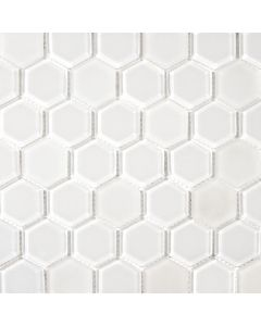 Hexagon Glass Mosaic
