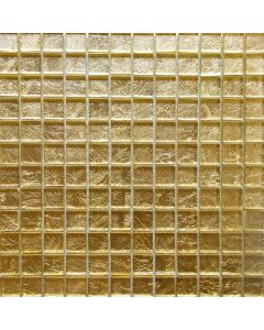 Gold Foil Glass Mosaic, 12x12