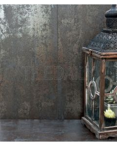 Rustic Metallic Porcelain Tile