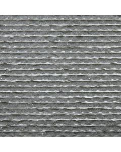 Chiseled Ripple Basalt Tile, 12x24