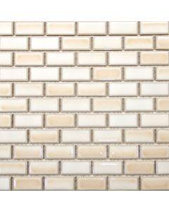 Brick Porcelain Mosaic, Glossy