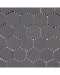 Hexagon Matte Porcelain Mosaic
