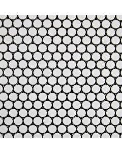 Penny Round Porcelain Mosaic