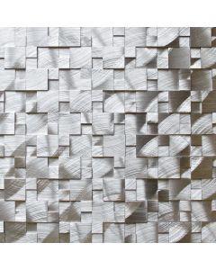 Silver Splitface Aluminum Mosaic