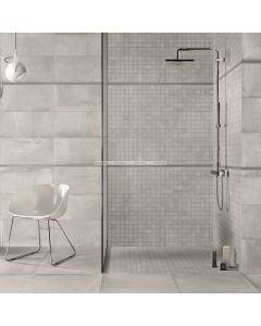Cement Life Alive Light Grey Porcelain Tile, TileDaily