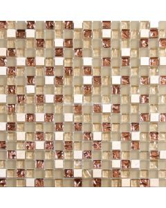 Barrique Gold Glass Mosaic