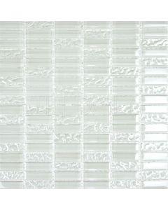 Iridescent Glass Bars Mosaic