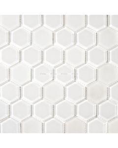 Hexagon Glass Mosaic