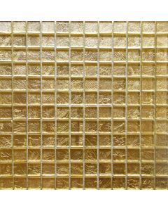Gold Foil Glass Mosaic, 12x12