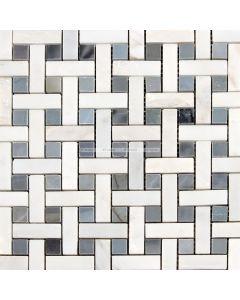 Insert Weave Marble Mosaic