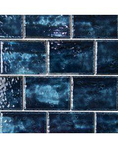 Caribbean Subway Mosaic Tile