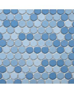 Matte Hexagon Porcelain Mosaic
