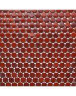 Rustic Penny Round Mosaics